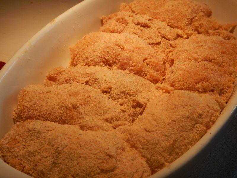 Куриные рулетики с сыром и вялеными помидорами