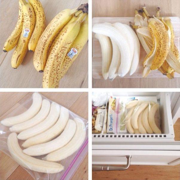 замороженные бананы