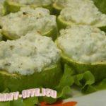 Запеченные кабачки с сыром Фета
