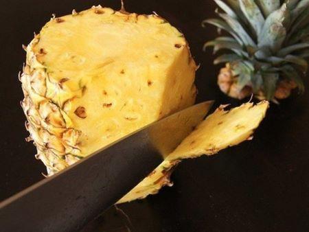 Как пожарить ананас