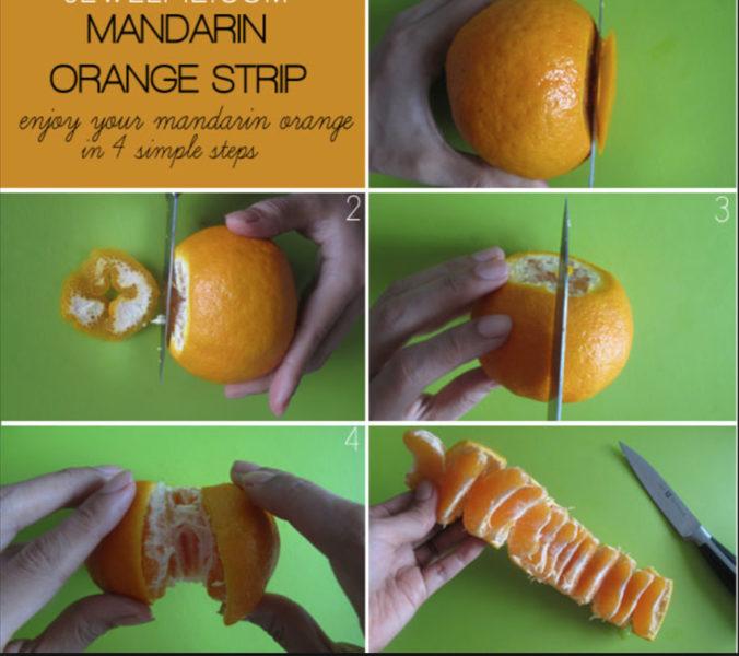 Вам не нужно чистить апельсины