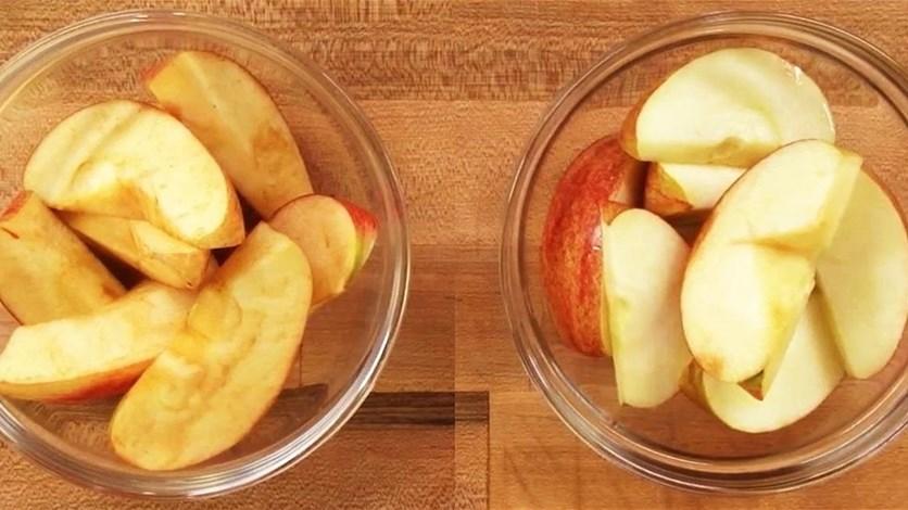 Как сохранить порезанные фрукты от потемнения