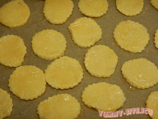 Хрустящее печенье на сметане