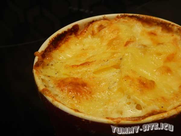 Запеканка с картофелем и молоком