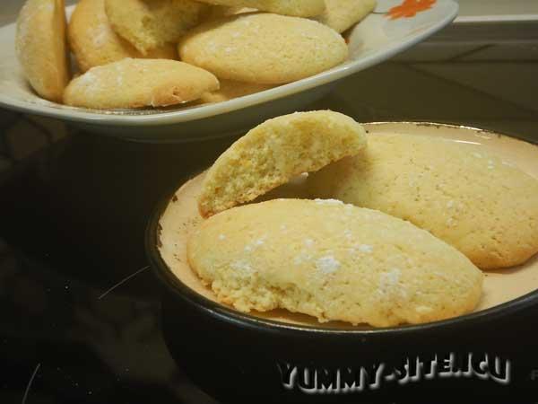 Быстрое печенье с апельсиновой цедрой