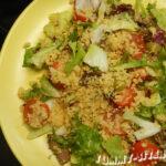 Салат с кускусом и говядиной