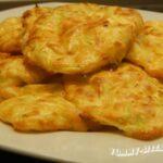 Кабачковые оладьи с сыром фета
