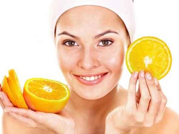маска для лица из апельсина